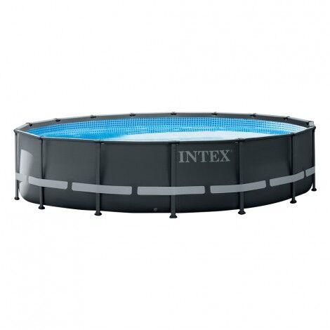 Piscina desmontable tubular Intex Ultra XTR Frame 488x122cm con filtro de arena