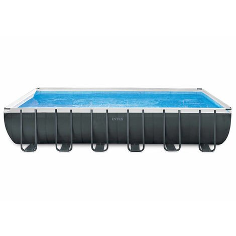 Piscina elevada desmontable Intex 26368 ex 26362 Ultra XTR Premium Rectangular Grande 732x366x132