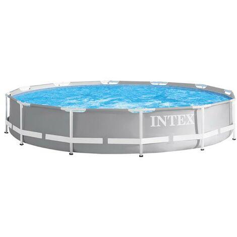 Piscina Elevada desmontable Intex 26788 ex 26776 Prism Frame rectangular 400x200x100