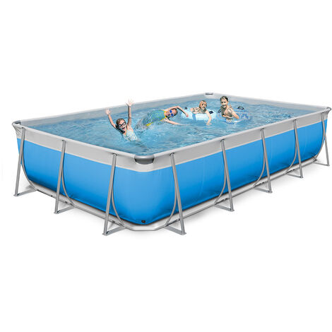 Piscina elevada desmontable rectangular 520x265 H125 New Plast Futura 550