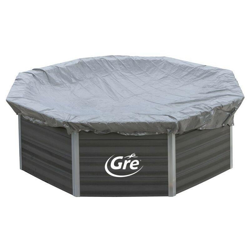 GRÉ - Cubiertas de Invierno para Piscinas de Composite Gre Elige la medida de tu piscina:Ovalada - 804x386 cm CIKPCO80