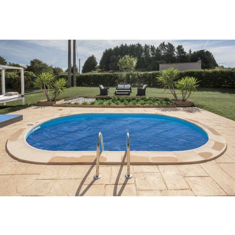 GRÉ - Cubiertas isotérmicas para piscinas enterradas Gre Circular - 345 cm CVPE350