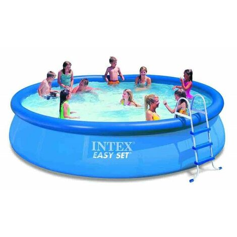 Piscine Fuori Terra Intex.Piscina Fuori Terra Intex Easy Set Rotonda 457x91 Cm