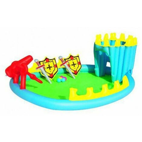 Piscina gonfiabile per bambini Bestway Fortezza con giochi