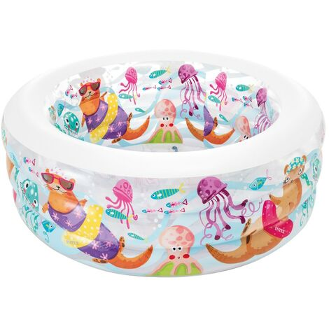 Piscina hinchable acuario 152x56cm - 360 litros (Intex 58480np)