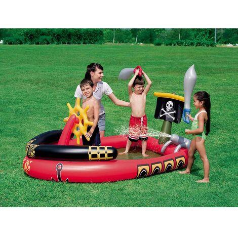 Piscina Hinchable Infantil Bestway Barco Pirata - 53041B