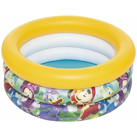 Piscina Hinchable Infantil Bestway Mickey and the Roadster Racers Baby 70x30 cm