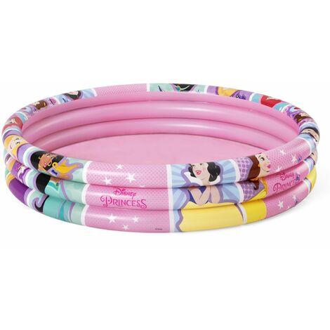 Piscina Hinchable Infantil Bestway Princesas Disney 122x25 cm