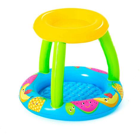 Piscina Hinchable Infantil Con Techo Bestway Fruit Canopy 94x89x79 cm - 52331