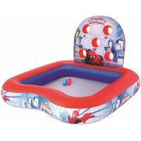 Piscina Hinchable Infantil de Juegos Bestway Spiderman - 98016