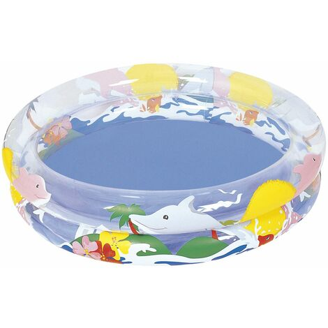 Piscina Hinchable Infantil Sea Life Bestway Ø82 cm