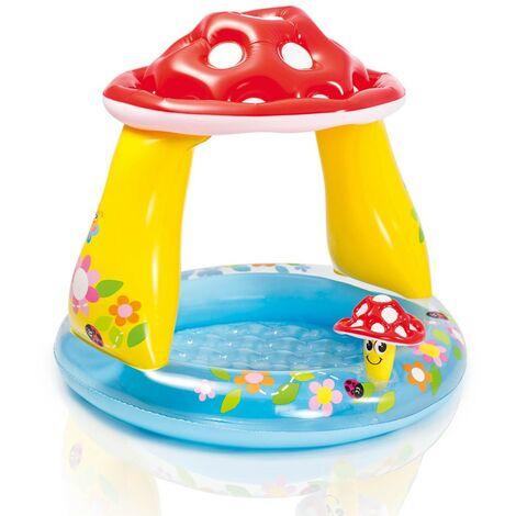 2ca9d8c89 Piscina hinchable niños Intex 57114 Mushroom baby pool Champiñón juguete
