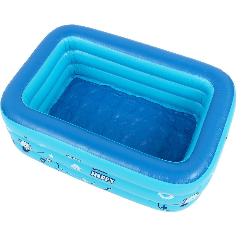 Piscina inflable para niños Bañera Uso doméstico Piscina infantil 1.5m Sasicare