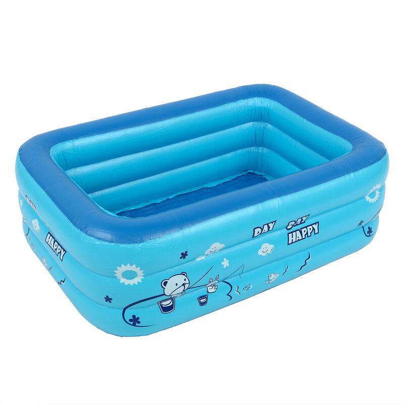 Kingso - Piscina inflable para niños, bañera, uso doméstico, piscina infantil Hasaki, 110x70x35cm