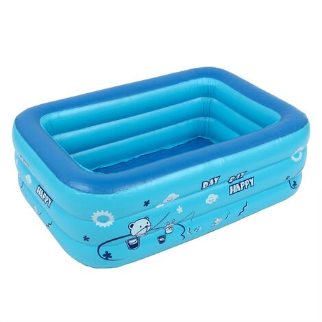 Piscina inflable para niños, bañera, uso doméstico, piscina infantil Hasaki, 140x100x50cm