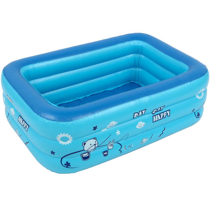 Piscina inflable para niños Bañera Uso doméstico Piscina infantil 1.2m