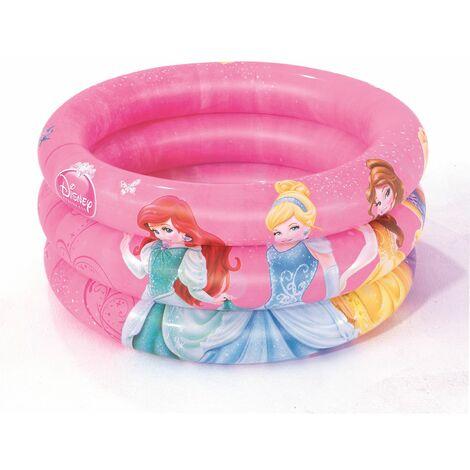 Piscina Intantil Hinchable Princesas Disney 70x70x30 cm