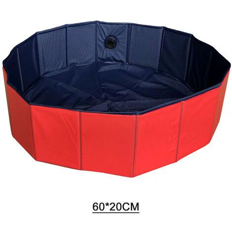 "main image of ""Piscina para mascotas de perro extra grande de plastico duro plegable, banera, piscina para ninos"""