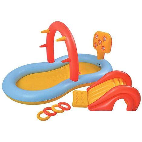 """main image of """"Piscina Parco Giochi Multigioco per Bambini Play Center con Scivolo e Attivita"""""""