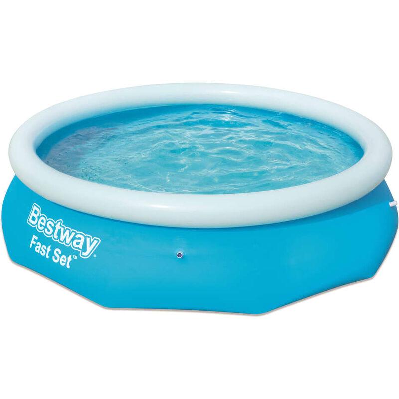 No_brand - vidaXL Piscina redonda inflable Fast Set 305x76 cm 57266 - Azul