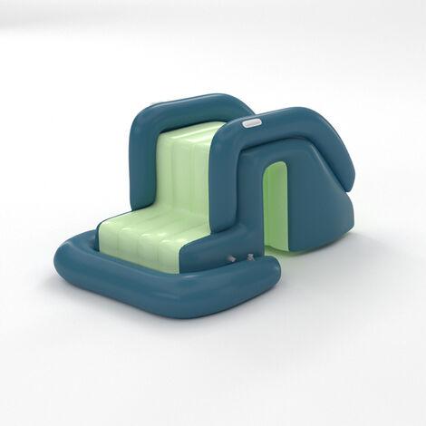 """main image of """"Piscina tobogan inflable Suministro de piscina Instalacion de recreacion de juegos acuaticos portatiles para fiestas de agua en el patio trasero al aire libre"""""""