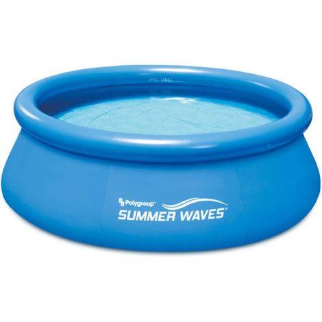 Piscine auto-portée ronde Ø2,44x0,76m Summer Waves