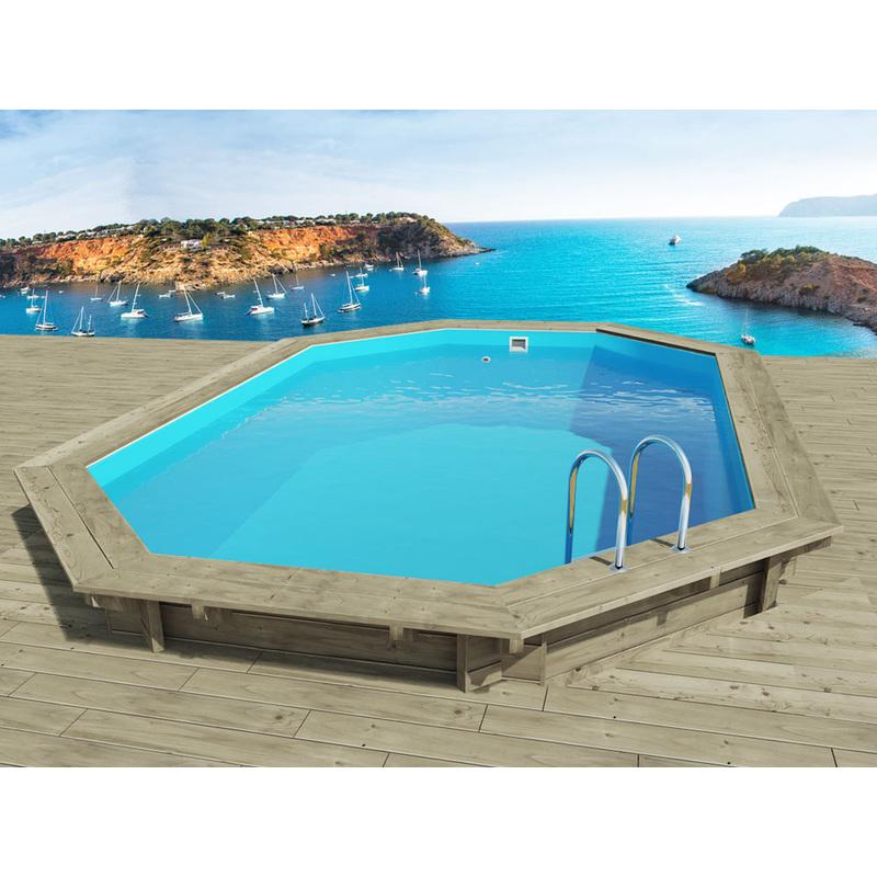 piscine bois miami x x m 1105 miami. Black Bedroom Furniture Sets. Home Design Ideas