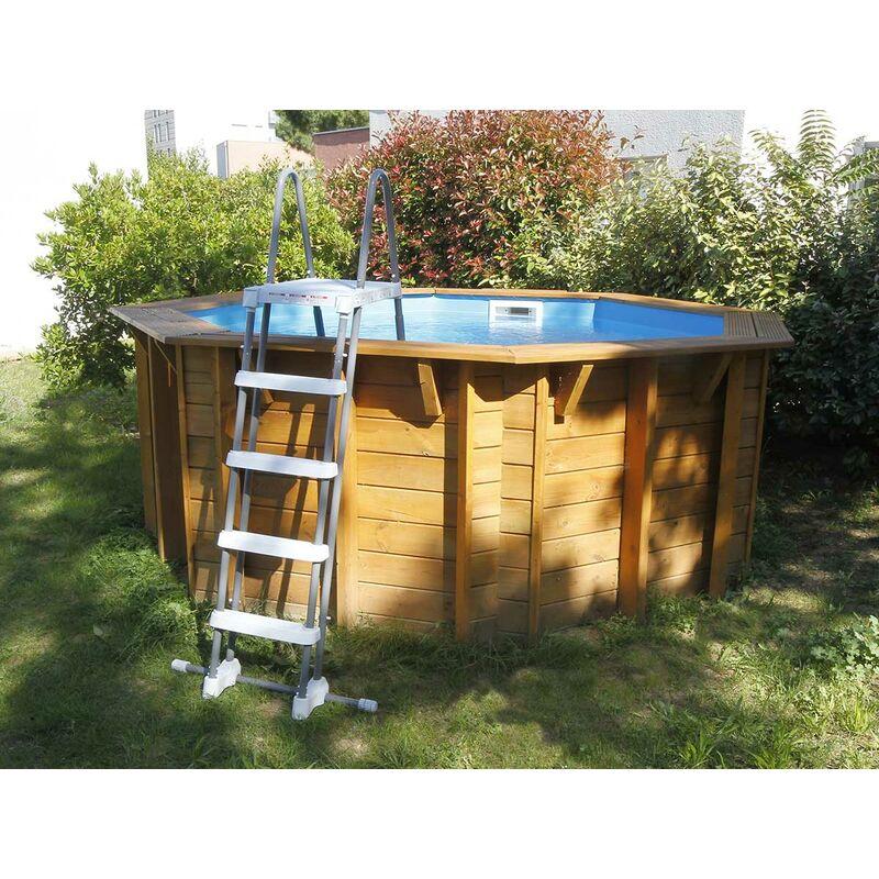 Ubbink B/âche /à bulles pour piscine bois SunWater /Ø 3,60 x 1,20 m