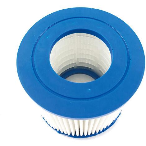 Piscine Element De Filtre Reutilisable Piscine Filtre Cartouche Pompe De Rechange Filtre Compatible Avec Bestway Vii / D Intex Menage Piscine Accessoires, 107*95Mm
