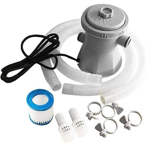 """main image of """"Piscine Filtre Pompe Électrique Piscine Filtre Outils Kit Set 300 Gallon Au Dessus Du Sol Eu Plug Filtration De Piscine"""""""