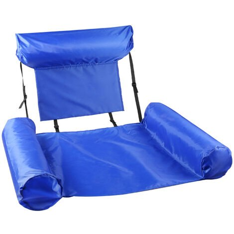 Piscine flottante hamac lit flottant gonflable chaise inclinable radeau plaisir de l'eau piscine salon