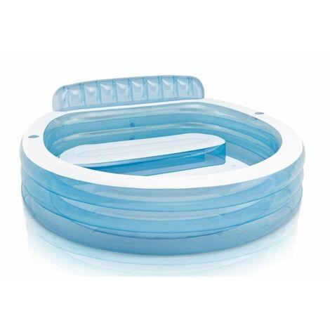 Piscine gonflable avec banc Intex