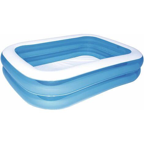 Piscine Gonflable pour Enfants Bestway Blue Family 211x132x46 cm