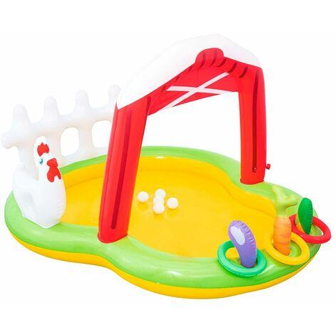 Piscine Gonflable pour enfants Bestway Lil Ferme 175x147x102 cm