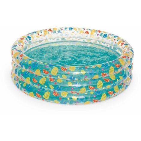 Piscine gonflable pour enfants FRUIT, Ø170cm, pataugeoire, petite piscine