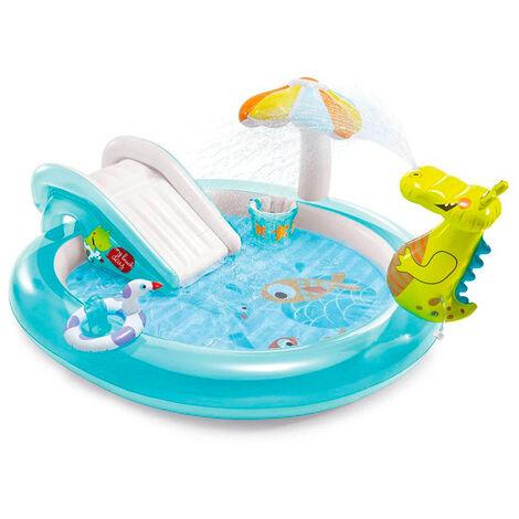 Piscine gonflable pour enfants Intex 57165 Gator Play Center jeu