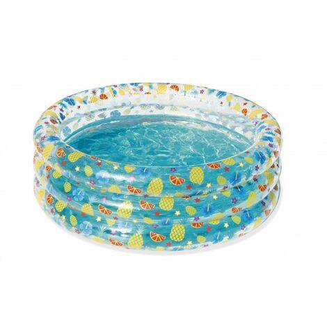 Piscine gonflable ronde - 445 L - Sea Life - D 150 cm x H 53 cm