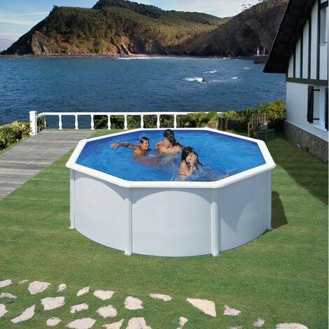 Piscine Gre Fidji 350x120 KIT350ECO Filtre de 6 m3/h et Liner 30/100