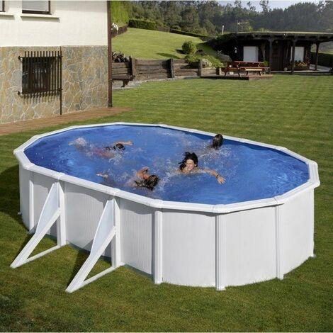 Piscine Gre Fidji 610x375x120 KIT610ECO Filtre de 6 m3/h et Liner 40/100