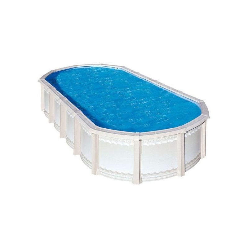 piscine hors sol m tal et r sine trigano liberty 9 55 x 4. Black Bedroom Furniture Sets. Home Design Ideas
