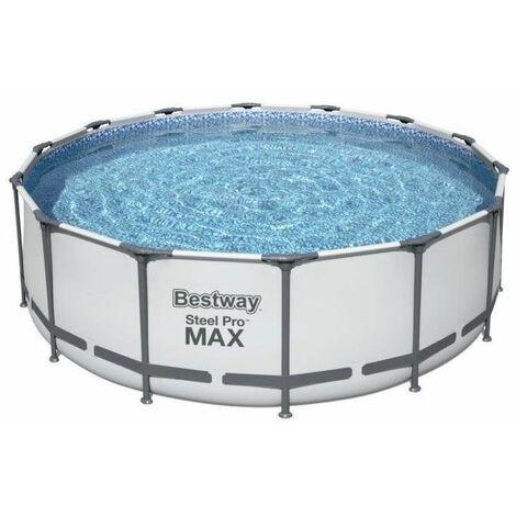 Piscine hors sol ronde Bestway 5612X Steel Pro Max 427x122cm