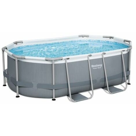 Piscine ovale Bestway Power Steel™ 3.05 x 2 x 0.84m