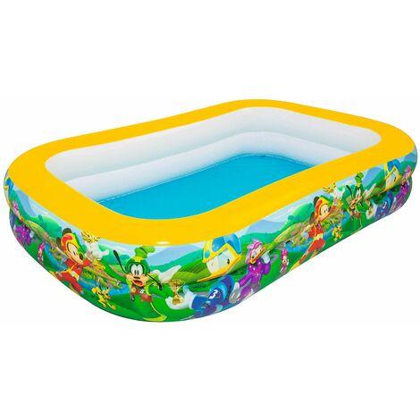 Piscine pour ENFANTS rectangle gonflable DISNEY MICKEY 269 cm