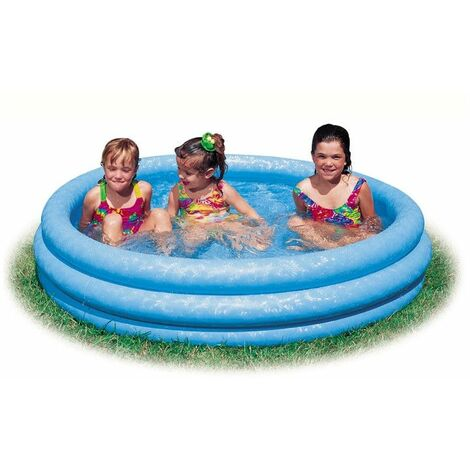 Piscine ronde gonflable - Intex - Bleu