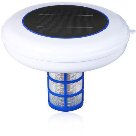 Piscine Solaire-Ioniseur Argent Cuivre Ion Piscine Solaire Piscine Ioniseur Purificateur Portable Elimine