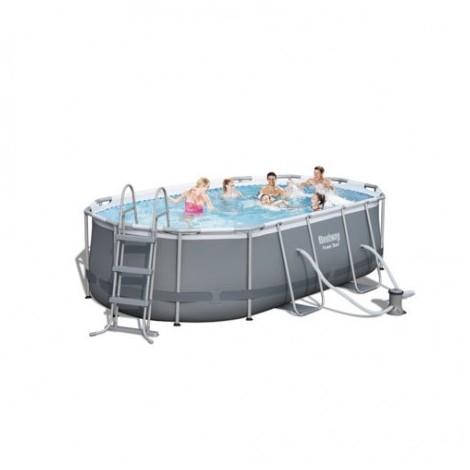 Kit piscine ovale Power Steel Frame II