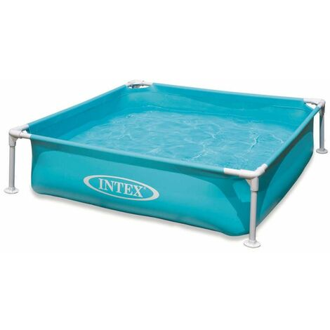 Piscinette Intex MetalFrame Junior Bleu