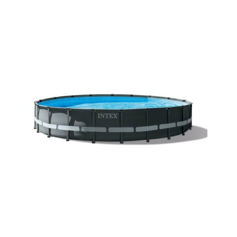 Piscine tubulaire Ultra XTR - Ronde - 6,10 m x 1,22 m de Piscine tubulaire - Intex