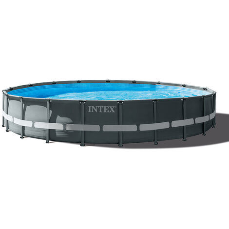 Piscine tubulaire Ultra XTR Frame rectangulaire 7,32 x 3,66 x 1,32 m - Intex