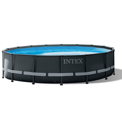 Piscine tubulaire Ultra XTR Frame ronde 4,88 x 1,22 m - Intex